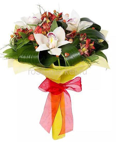Букет 3 Орхидеи