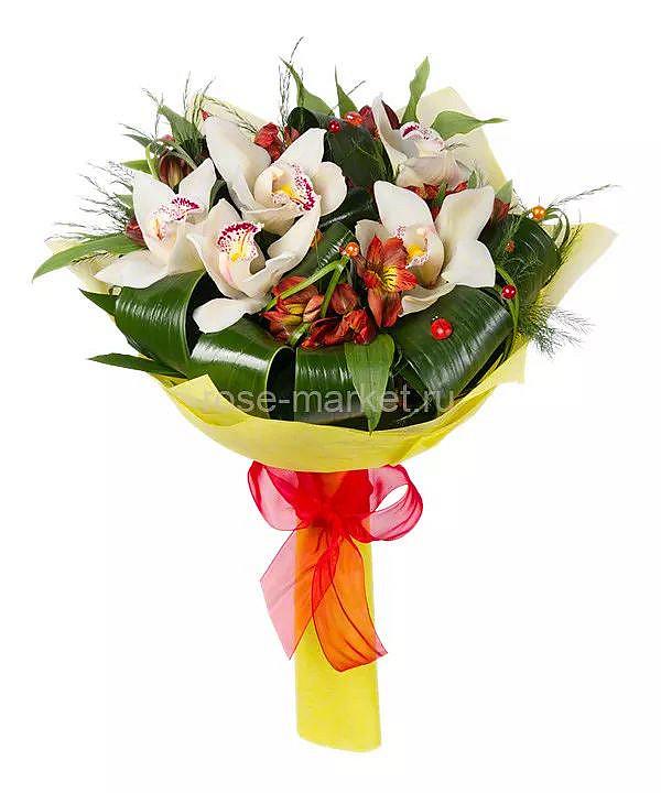 Букет 5 Орхидеи